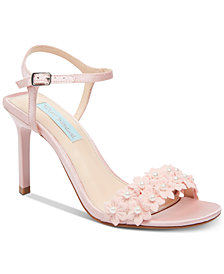 Blue by Betsey Johnson Snow Evening Sandals