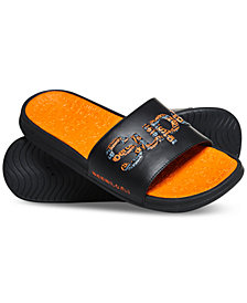 Superdry Men's Crew Repeat Logo Slide Sandals