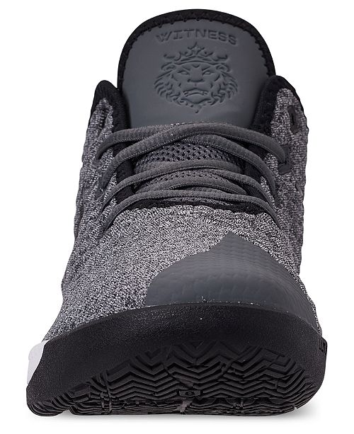 c120bd252096a Nike Men s LeBron Witness III Basketball Sneakers from Finish Line ...