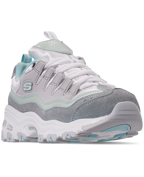 aa6c0b02c57a ... Skechers Women s D Lites - Sure Thing Walking Sneakers from Finish ...