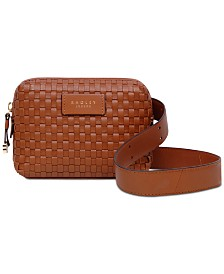 Radley London Weavers Way Leather Belt Bag