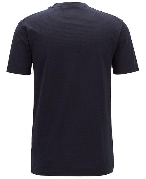 a93ff576 Hugo Boss BOSS Men's Regular/Classic Fit Cotton T-Shirt & Reviews ...