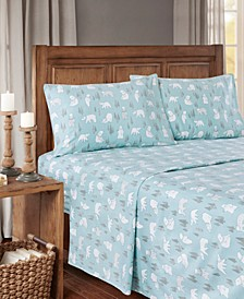 True North Cotton Flannel 3-Piece Twin XL Sheet Set