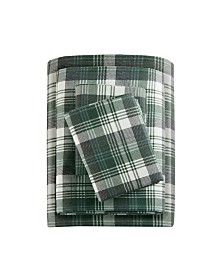 Woolrich Cotton Flannel 4-Pc. King Sheet Set