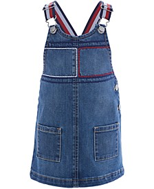 Baby Girls Denim Overall Dress