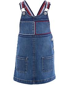 Tommy Hilfiger Baby Girls Denim Overall Dress