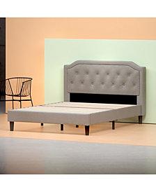 Zinus Kellen Platform Bed Frame / Strong Wood Slat Support, Queen