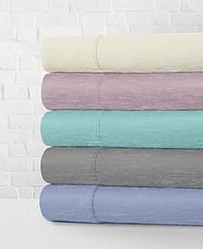 Heather Jersey Knit Sheet Sets