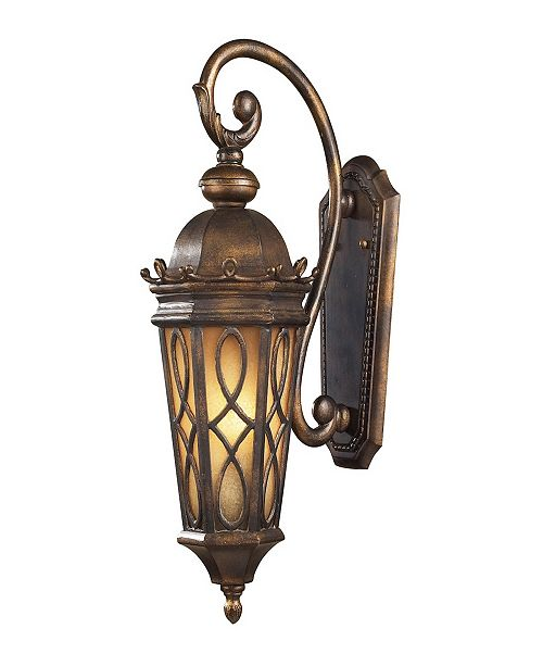 ELK Lighting Burlington Junction Collection 2-Light Lantern Wall Mount