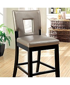 Benzara Contemporary Style Counter Height Chair, Set of 2