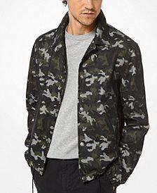 Michael Kors Men's Camouflage Jacket