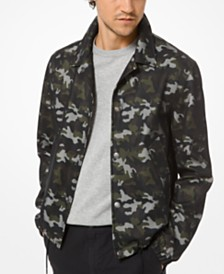Michael Kors Men's Camouflage Jacket