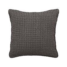 "French Connection Cotton Stonewash 18"" x 18"" Decorative Pillows"