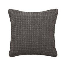 "French Connection Cotton Stonewash 18"" x 18"" Decorative Pillows"