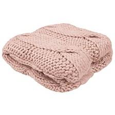 "Ella 50"" x 60"" Decorative Throw Blankets"