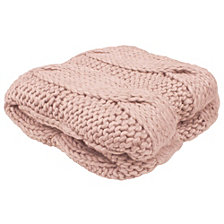 """French Connection Ella 50"""" x 60"""" Decorative Throw Blankets"""