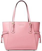 0e69afd9c606 Michael Kors Voyager East West Crossgrain Leather Tote