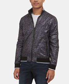 Kenneth Cole New York Men's Reversible Bomber Jacket