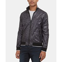 Deals on Kenneth Cole New York Mens Reversible Bomber Jacket