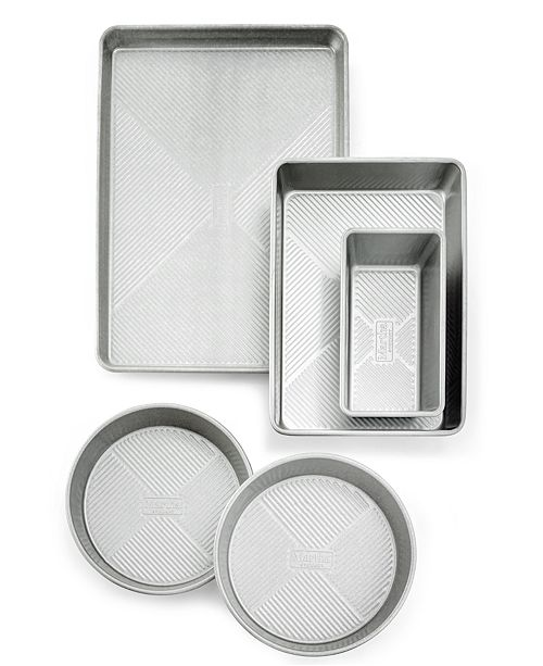 Martha Stewart Collection 5-Pc. Bakeware Set, Created for Macy's