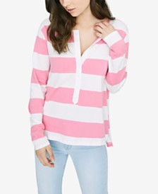 Sanctuary Sullivan Striped Vented Henley