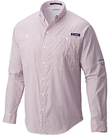 Men's PFG Super Tamiami Grid Pattern Shirt