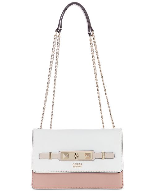 ec082db16c34 GUESS Cherie Chain Crossbody   Reviews - Handbags ...
