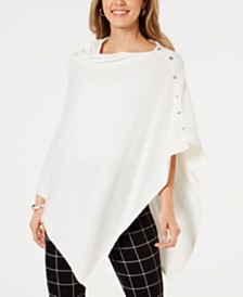 Charter Club Pullover Poncho, Created for Macy's