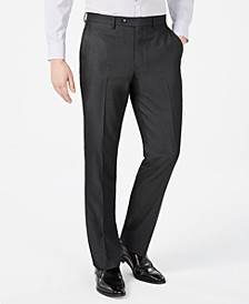 Men's Slim-Fit Twill Suit Pants