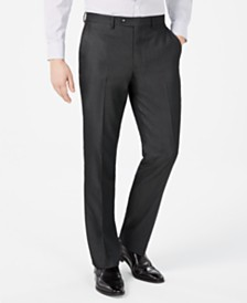 Vince Camuto Men's Slim-Fit Twill Suit Pants