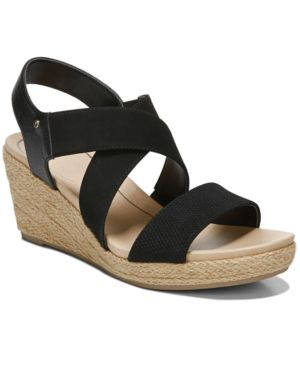 DR. SCHOLL'S | Dr. Scholl's Women's Emerge Wedge Sandals Women's Shoes | Goxip