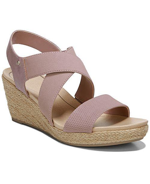 56c86215ac73 Dr. Scholl s Women s Emerge Wedge Sandals   Reviews - Sandals   Flip ...
