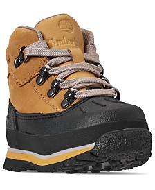 Timberland Toddler Boys' Euro Hiker Shell Toe Boots from Finish Line