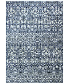 """CLOSEOUT! Medley  5465 Ivory/Blue 7'6"""" x 9'6"""" Area Rug"""
