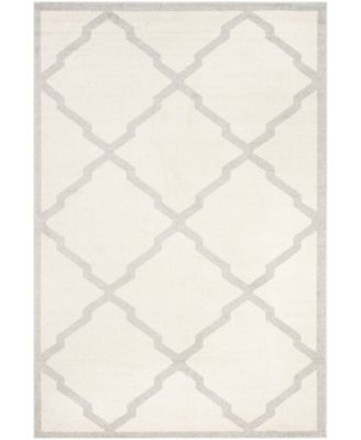 Amherst Beige and Light Gray 5' x 5' Round Area Rug