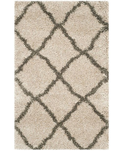 Safavieh Belize Taupe and Gray 3' x 5' Area Rug