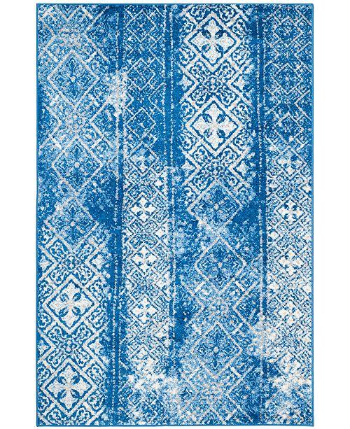 Safavieh Adirondack Silver and Blue 4' x 6' Area Rug