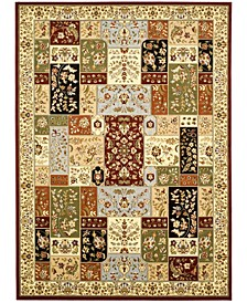 Lyndhurst Multi and Ivory 11' x 15' Area Rug