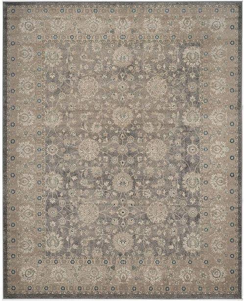Safavieh Sofia Light Gray and Beige 9' x 12' Area Rug