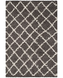 Safavieh Dallas Dark Gray and Ivory 4' x 6' Area Rug