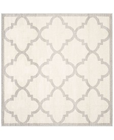 Safavieh Amherst Beige and Light Gray 9' x 9' Square Area Rug