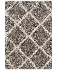 Hudson Gray and Ivory 2' x 3' Area Rug