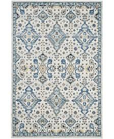 Evoke Ivory and Light Blue 11' x 15' Area Rug