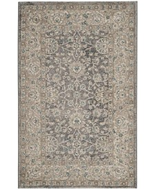 Sofia Light Gray and Beige 3' x 5' Area Rug