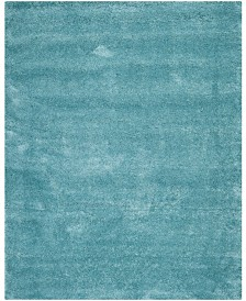 Safavieh Shag Aqua Blue 11' x 16' Rectangle Area Rug