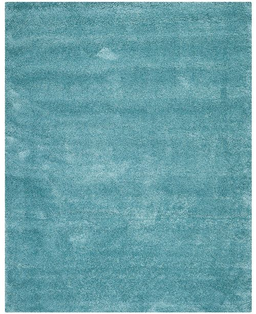 Safavieh Shag Aqua Blue 11 X 16
