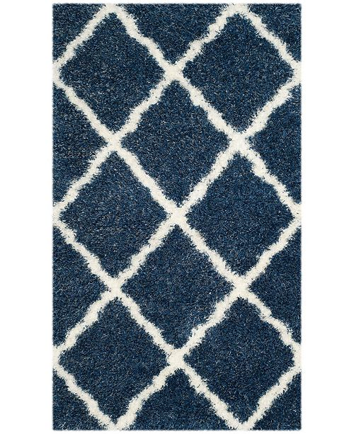 """Safavieh Montreal Blue and Ivory 2'3"""" x 5' Area Rug"""