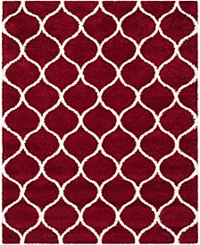 Hudson Red and Ivory 8' x 10' Area Rug
