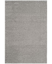 Safavieh Arizona Shag Light Gray 4' x 6' Area Rug