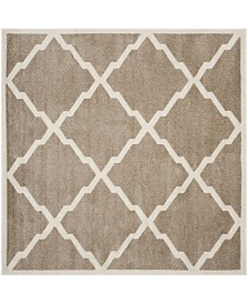 Safavieh Amherst Wheat and Beige 9' x 9' Square Area Rug